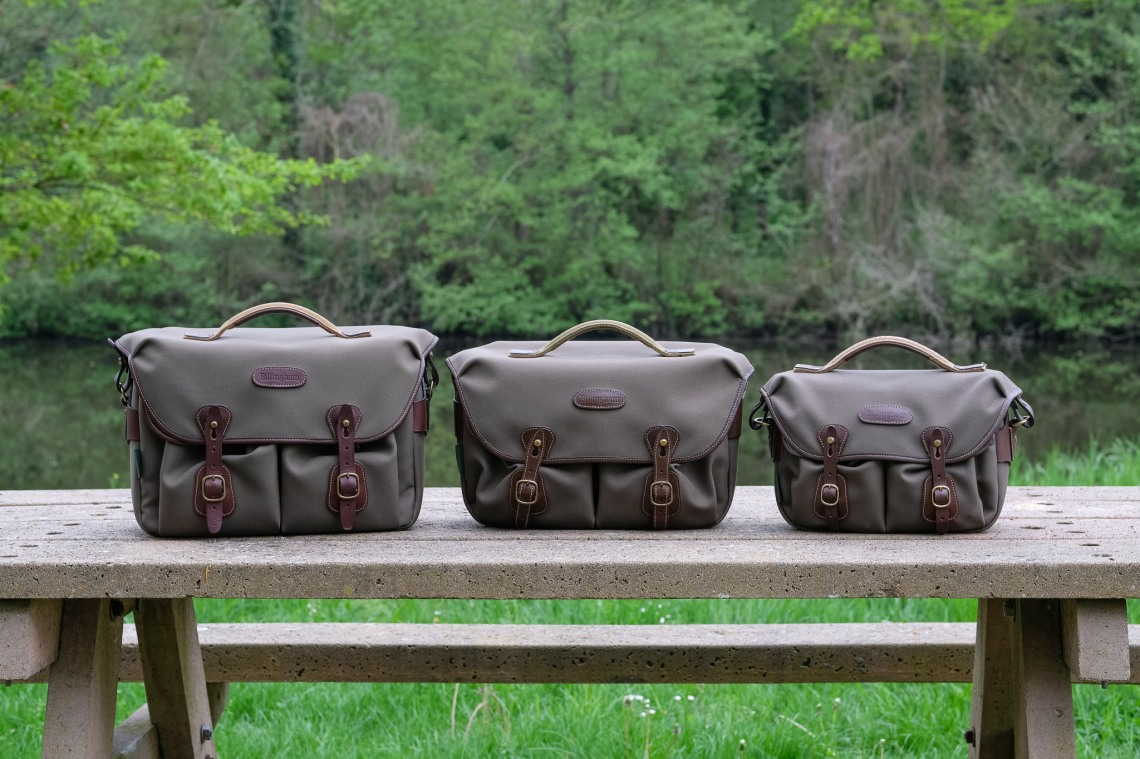b9e96f92dde49 From the left you can see the Billingham Hadley One, the Hadley Pro and the Hadley  small pro. Except for the size, it is really hard to find which model is ...